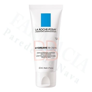 HYDREANE BB CREMA HIDRATANTE COLOR PIEL SENSIBLE LA ROCHE POSAY MEDIUM 40 ML