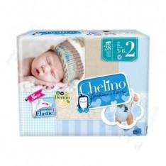 PAÑAL INFANTIL CHELINO FASHION & LOVE T- 2 (3 - 6 KG) 28 PAÑALE