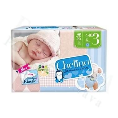 PAÑAL INFANTIL CHELINO FASHION & LOVE T- 3 (4 - 10 KG) 36 PAÑAL