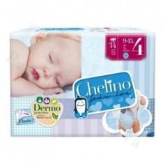 PAÑAL INFANTIL CHELINO FASHION & LOVE T- 4 (9 - 15 KG) 34 PAÑALES