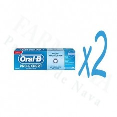 ORAL-B PRO EXPERT MULTI PROTECCION PASTA DENTAL 125 ML 2 U