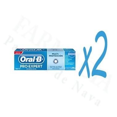 ORAL-B PRO EXPERT MULTI PROTECCION PASTA DENTAL 125 ML 2 U