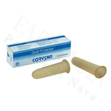 DEDIL CORYSAN LATEX DIAMETRO 17 CM T-3 10 U