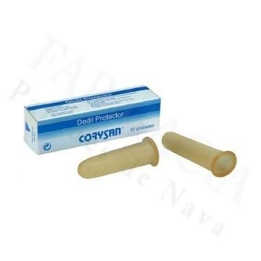 DEDIL CORYSAN LATEX DIAMETRO 19 CM T-5 10 U