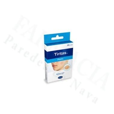 TIRITAS PLASTIC REDONDAS 20 U