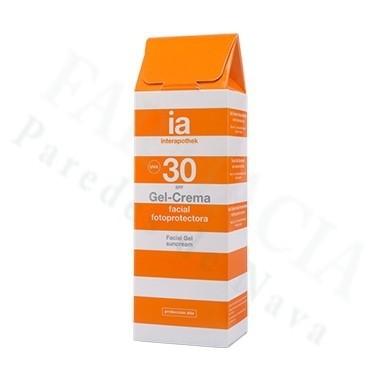 INTERAPOTHEK FOTOPROTECTOR SPF 30 GEL CREMA 50 ML