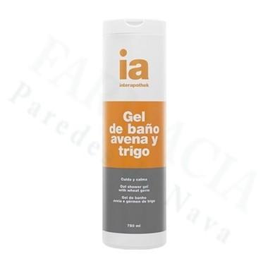 INTERAPOTHEK GEL DE BAÑO AVENA Y TRIGO 750ML