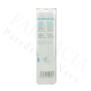 GEL NATURAL CERO INTERAPOTHEK 1000 ML