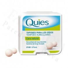 QUIES TAPONES OIDOS CERA NATURAL 16 U