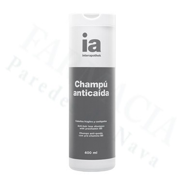 INTERAPOTHEK CHAMPU ANTICAIDA 400 ML
