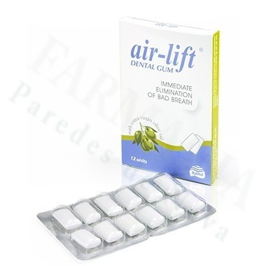 AIR LIFT CHICLE DENTAL BUEN ALIENTO
