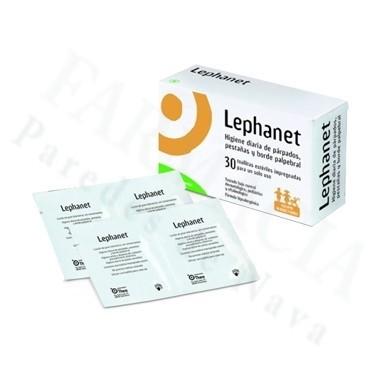 LEPHANET 30 TOALLITAS ESTERILES