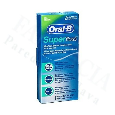 HILO DENTAL SUPER FLOSS 50 UN