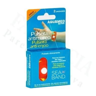 PULSERA ANTIMAREO AQUAMED INF 2 UNID
