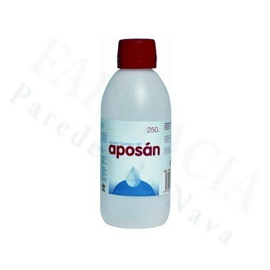 ALCOHOL 96º APOSAN 250 ML CLORURO DE BENZALCONIO