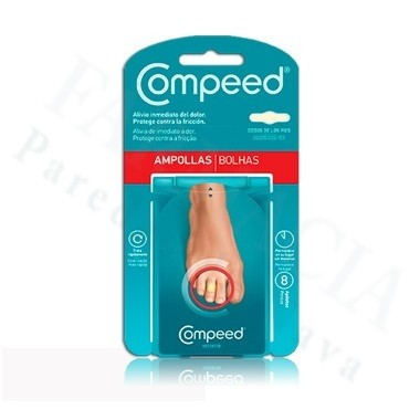 COMPEED AMPOLLAS DEDOS 8 APOSITOS