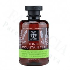APIVITA GEL BAÑO CON ACEITES ESENCIALES TONIC MOUNTAIN TEA 300ML