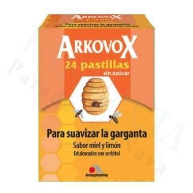 ARKOVOX DOLOR DE GARGANTA 20 COMPRIMIDOS PARA CHUPAR