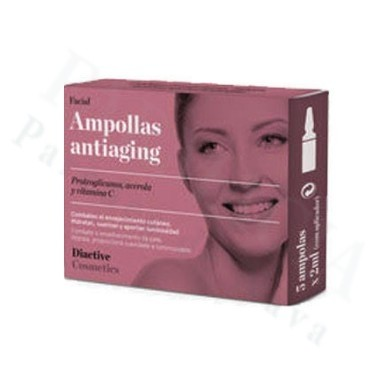BACTINEL AMPOLLAS ANTIAGING FACIAL 2 ML 5 AMPOLLAS
