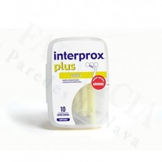 CEPILLO DENTAL INTERPROXIMAL INTERPROX PLUS MINI ENVASE AHORRO 10 U