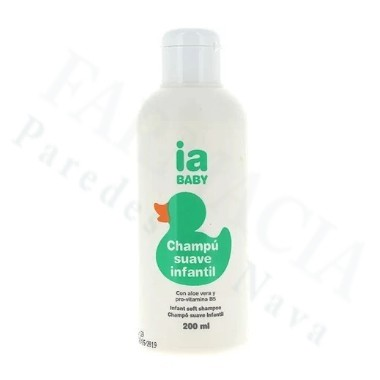 IA BABY CHAMPU SUAVE INFANTIL INTERAPOTHEK 200 ML
