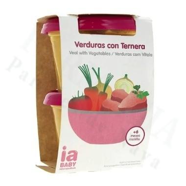 INTERAPOTHEK IA BABY VERDURAS CON TERNERA 400 G