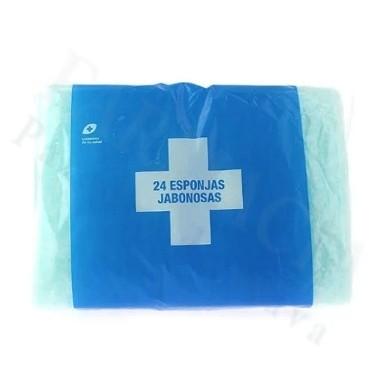 INTERAPOTHEK ESPONJA ENJABONADA DESECHABLE 24 ESPONJA