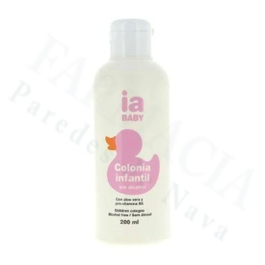 IA BABY COLONIA INFANTIL SIN ALCOHOL INTERAPOTHEK 200 ML