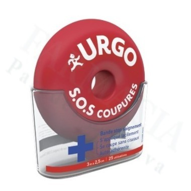 URGO SOS CORTES BANDA AUTOADHESIVA RECORTABLE