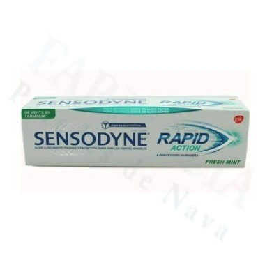 SENSODYNE RAPID PASTA DENTAL FRESH MINT 75 ML