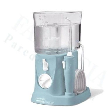 IRRIGADOR BUCAL ELECTRICO WATERPIK WP- 300 TRAVELER CON ADAPTADOR VIAJES BLUE