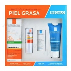 ANTHELIOS PACK PIEL GRASA GEL-CREMA 50ML + STICK