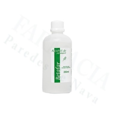 ALCOHOL DE ROMERO BETAFAR 250 ML