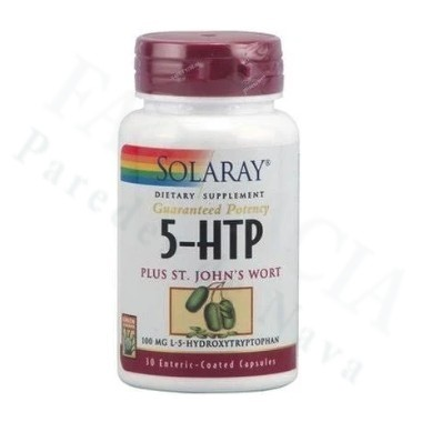 5 HTP HIPERICO SOLARAY 30 CAPS
