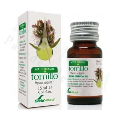 ACEITE ESENCIAL DE TOMILLO SORIA NATURAL 15 ML