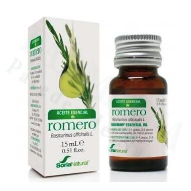 ACEITE ESENCIAL DE ROMERO SORIA NATURAL 15 ML