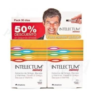 INTELECTUM STUDY PACK 30 DIAS 30+30 CAPS