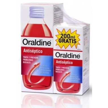 ORALDINE ANTISEPT PACK 400+200ML