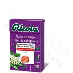 RICOLA FLORES DE SAUCO CARAMELO