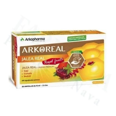 ARKOREAL JALEA REAL ROYAL´FRUITS 20 AMPOLLAS