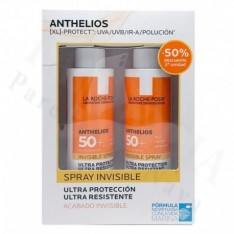 ANTHELIOS DUPLO SPRAY INVISIBLE SPF50 (SEG UD A 40%)