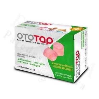 OTO-TAP TAPONES SILICONA 6 UNIDS