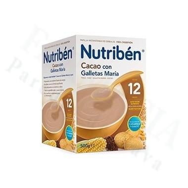 NUTRIBEN CACAO CON GALLETAS MARIA 500 G