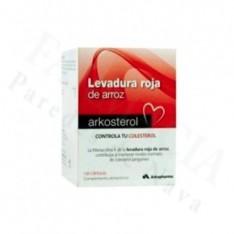 ARKOSTEROL REGULA COLESTEROL LEVADURA ARROZ ROJO 120 CAPSULAS