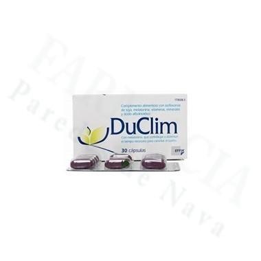 DUCLIM 30 CAPS (CAJON ISOFLAVONAS)