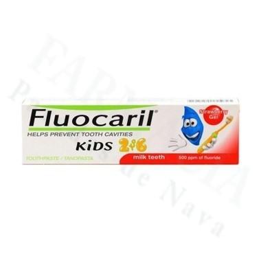 FLUOCARIL GEL FRESA KIDS DE 0 A 6 AÑOS