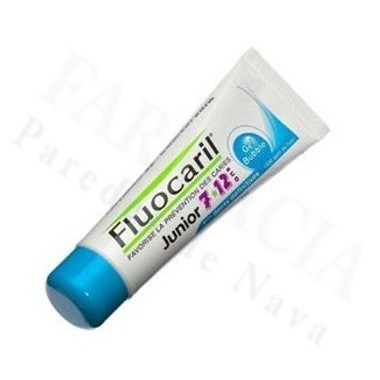 FLUOCARIL GEL SABOR CHICLE JUNIOR DE 7 A 12 AÑOS