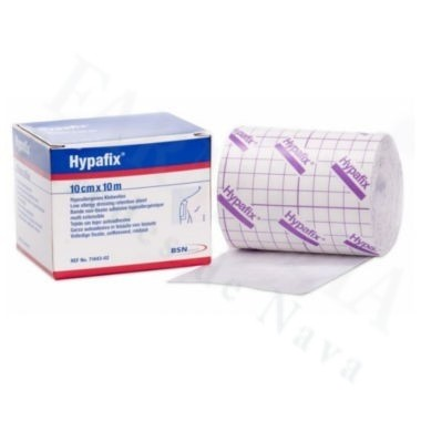 APOSITO ADHESIVO GRANDE HYPAFIX 10 CM X 10 M