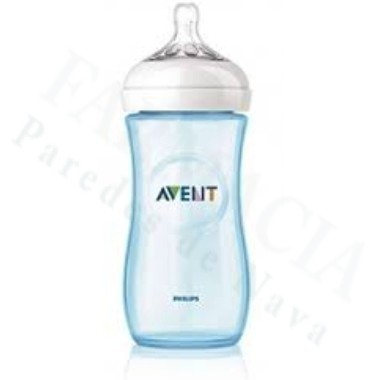 BIBERON NATURAL PHILIPS AVENT ANTICOLICO 330 ML 1 BIBERON AZUL