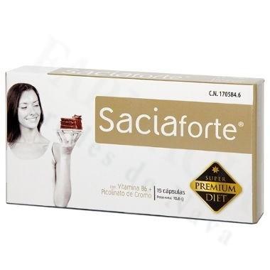 SACIAFORTE 15 CAPSULAS